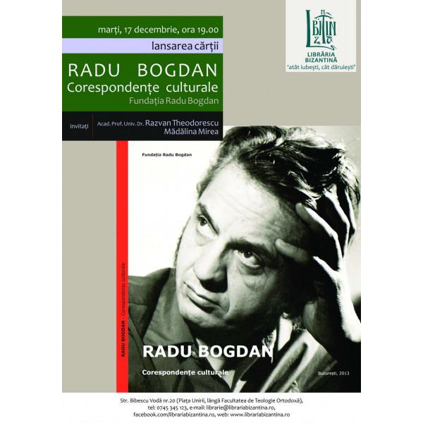 Corespondente culturale, Radu Bogdan