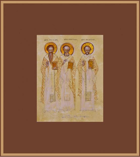 Icoana Sfintii Trei Ierarhi, Elena Murariu