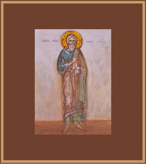 Icoana Sfantul Apostol Andrei, Elena Murariu