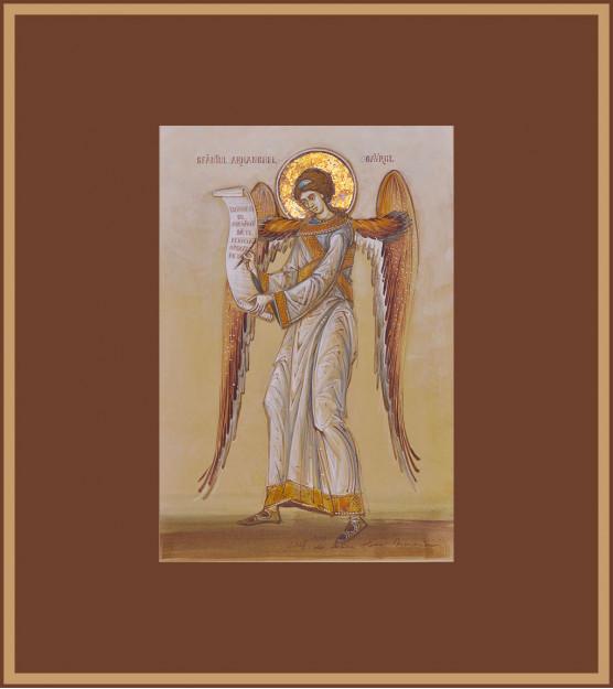 Icoana Sfantul Arhanghel Gavriil, Elena Murariu