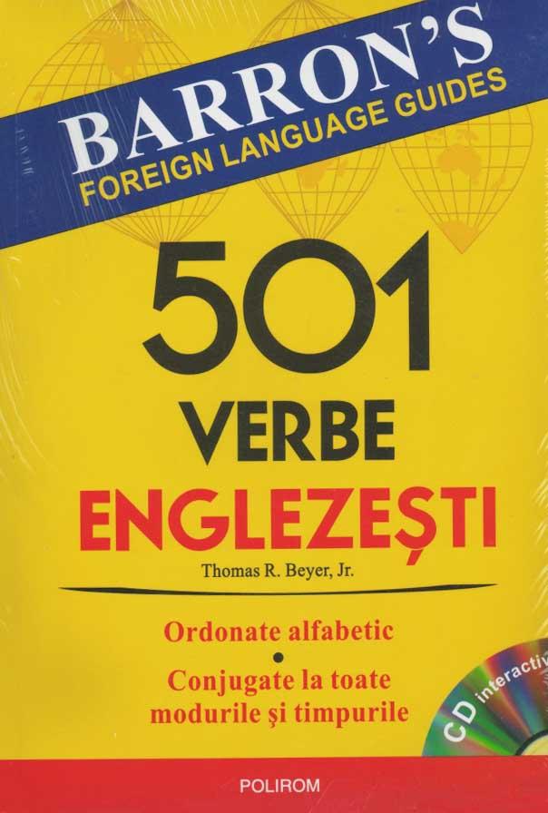 501 verbe englezesti (cu CD)