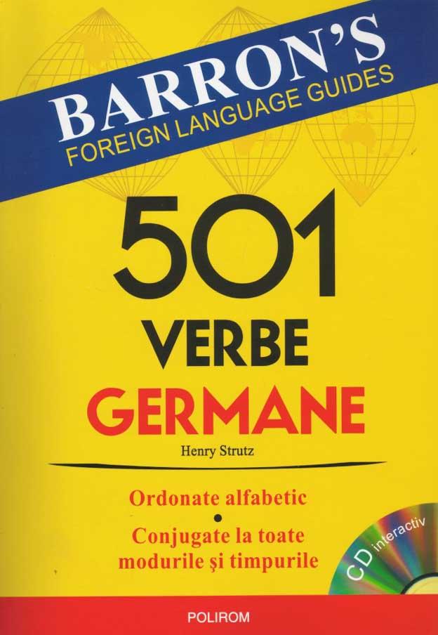501 verbe germane (cu CD)