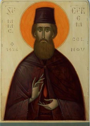 Icoana pictata pe lemn, Sf. Mare Mucenic Efrem cel Nou, A5