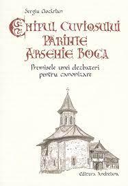 Chipul Cuviosului parinte Arsenie Boca de Sergiu Ciocarlan