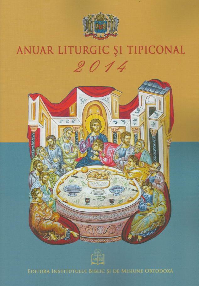 Anuar liturgic si tipiconal 2014
