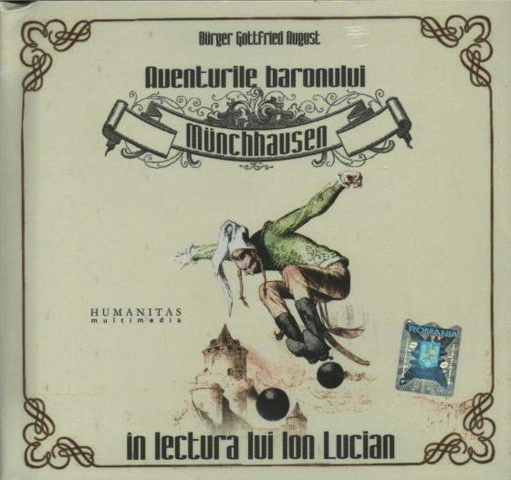 Aventurile baronului Münchhausen, Audiobook