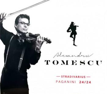 Paganini 24/24 - Alexandru Tomescu - Stradivarius (dublu CD)