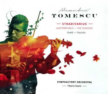 Anotimpurile/ The Seasons - Vivaldi-Piazolla - Alexandru Tomescu - Stradivarius (CD)
