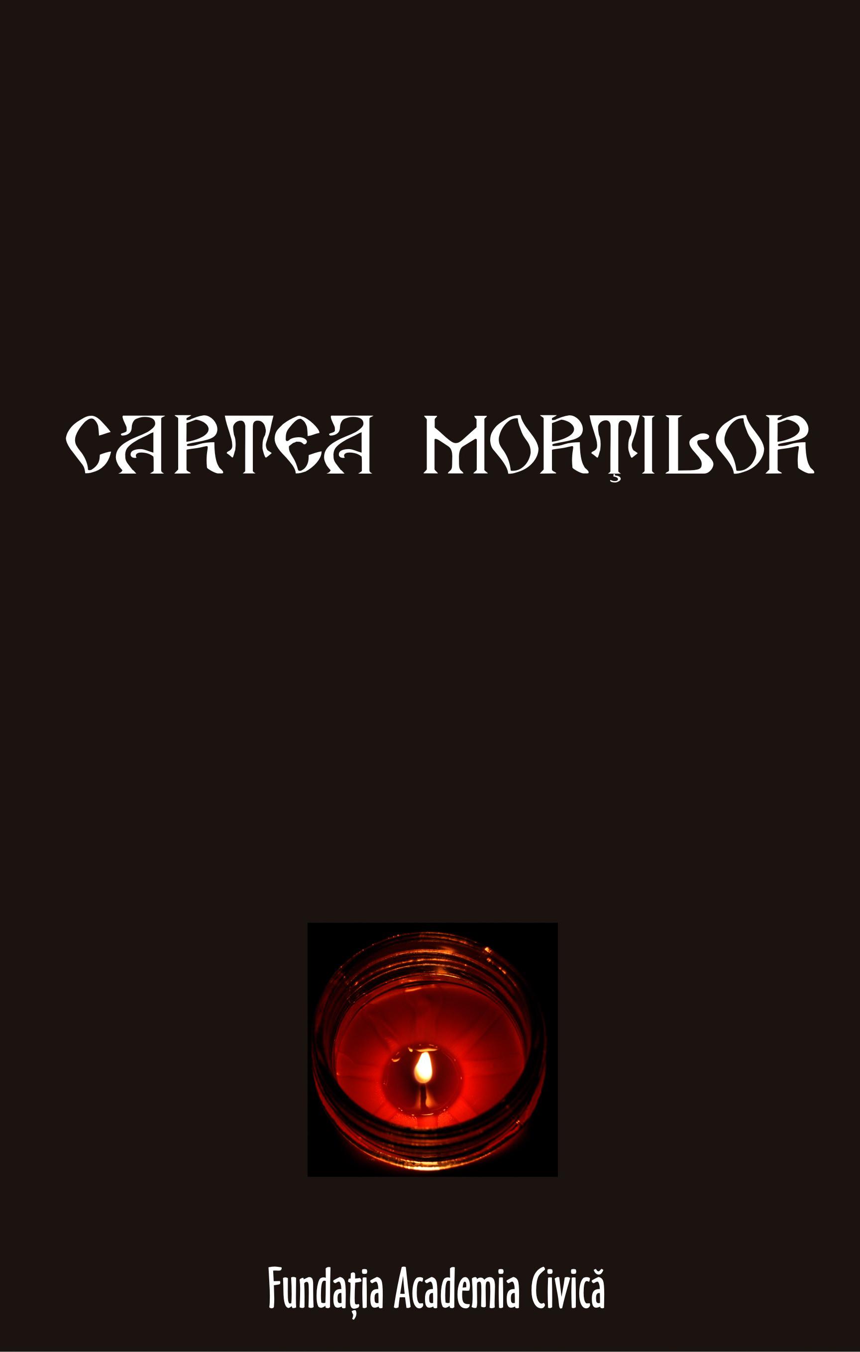 CARTEA MORTILOR DIN INCHISORI, LAGARE, DEPORTARI. CENTRUL INTERNATIONAL DE STUDII ASUPRA COMUNISMULUI