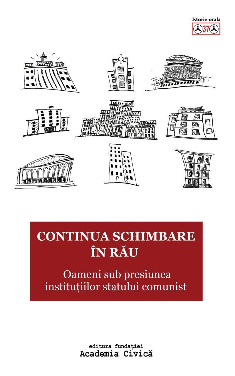 Centrul International de Studii asupra Comunismului. Continua schimbarea in rau. Oameni sub presiunea institutiilor statului comunist