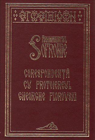 Corespondenta cu Protoiereul Gheorghe Florovski, Arhimandritul Sofronie