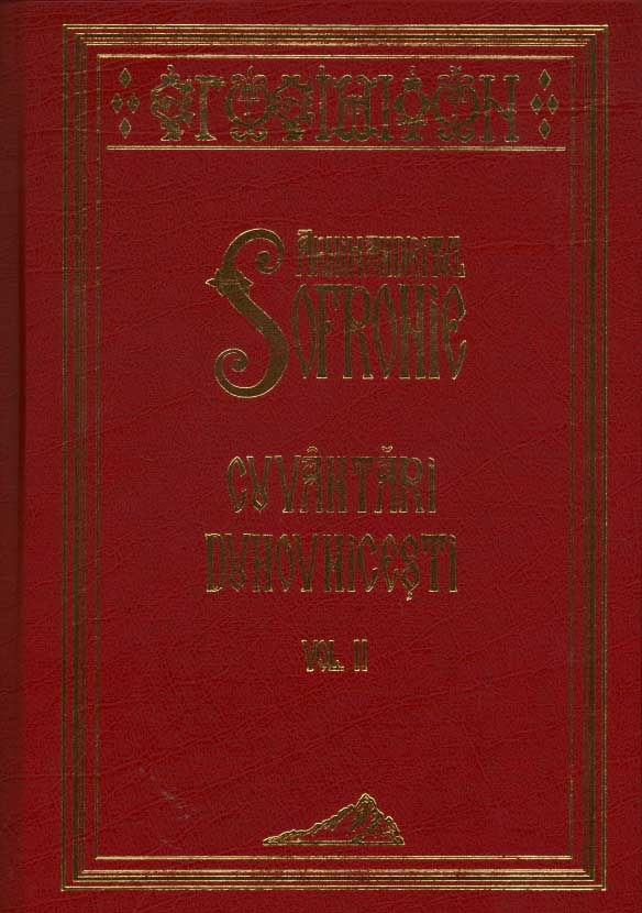 Cuvantari duhovnicesti vol. 2,Arhimandritul Sofronie