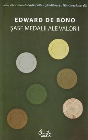 Edward De BONO | Sase medalii ale valorii