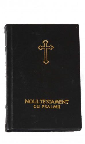 Noul Testament cu Psalmii, LB in piele