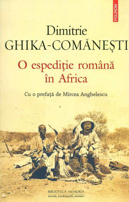 O espeditie romana in Africa, Dimitrie Ghika-Comanesti