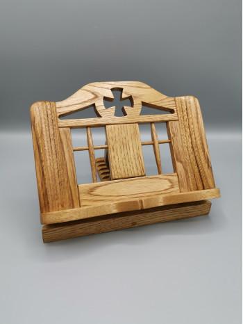 Suport pentru carte din lemn de castan (analog) - Sfantul Munte Athos
