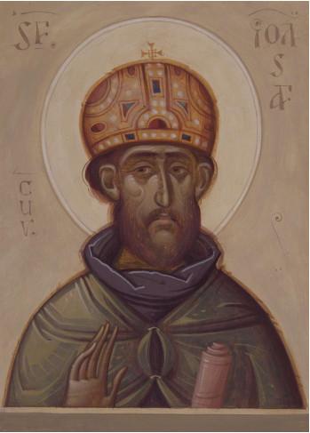 Icoana pictata pe lemn, Sf. Cuvios Ioasaf, A5
