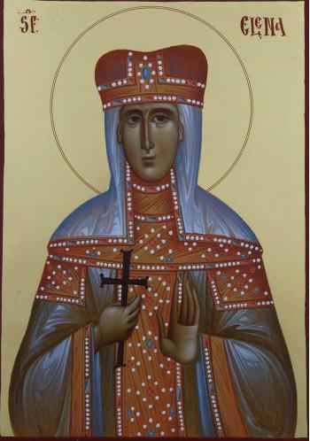 Icoana pictata pe lemn, Sf. Elena, A4