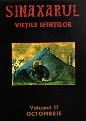 Sinaxarul. Vietile sfintilor, vol. 2. Octombrie - Ieromonahul Macarie de la Simonos Petra
