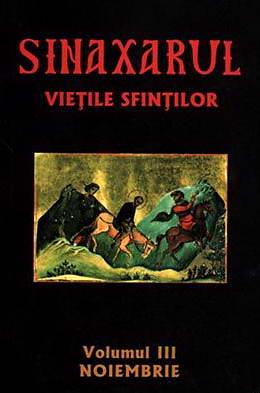 Sinaxarul. Vietile sfintilor, vol. 3. Noiembrie - Ieromonahul Macarie de la Simonos Petra