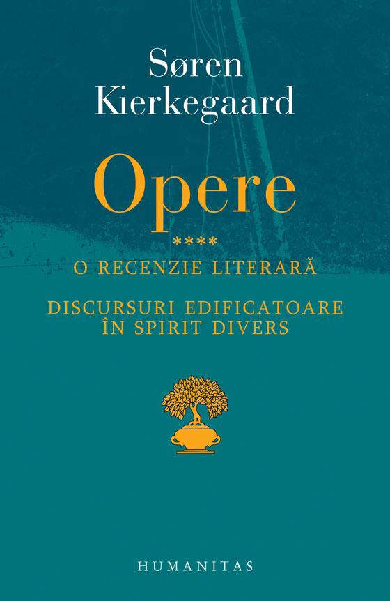 Soren KIERKEGAARD - OPERE IV