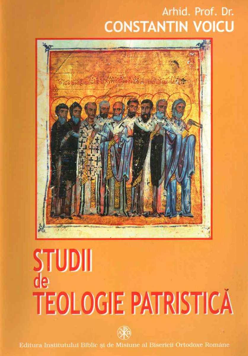 Studii de teologie patristica