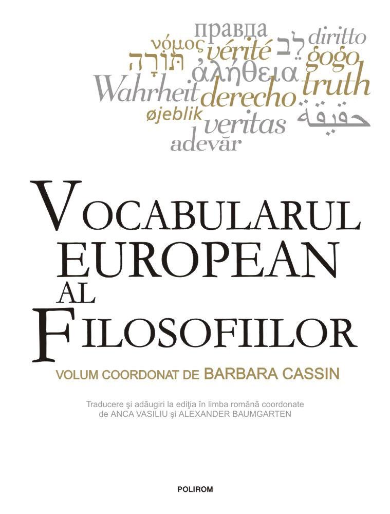 Vocabularul european al filosfiilor - Dictionarul intraductibilelor