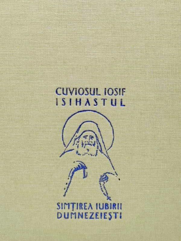 Simtirea iubirii dumnezeiesti de Gheron Iosif Isihastul