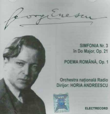 CD George Enescu Simfonia Nr. 3 in Do Major, Op. 21
