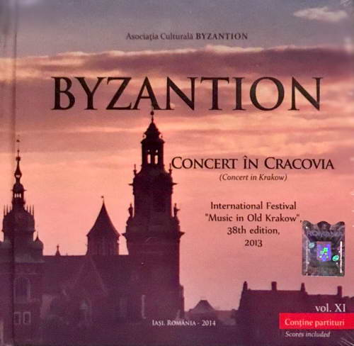 Concert in Cracovia - Grupul Byzantion (CD plus carte)
