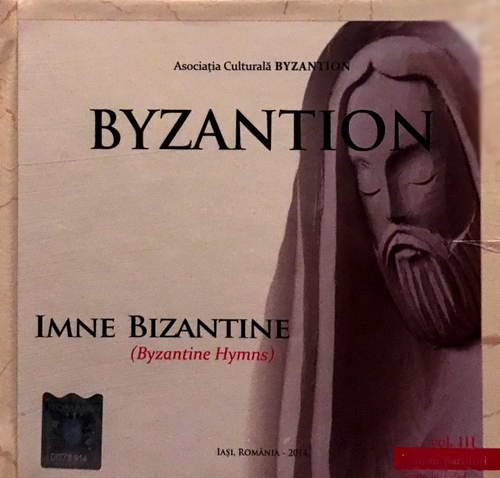 Imne bizantine - Grupul Byzantion (CD plus carte)