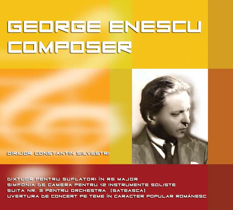 CD George Enescu Composer
