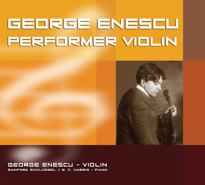 CD George Enescu Perfomer Violin
