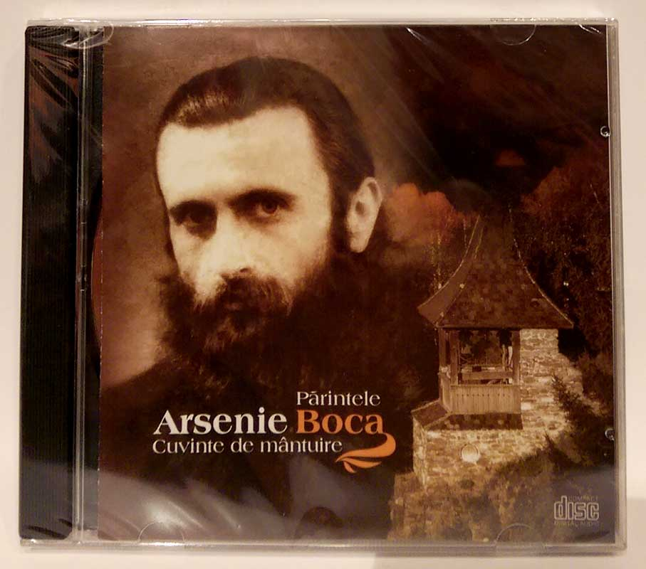 Parintele Arsenie Boca. Cuvinte de mantuire (CD-Audio)
