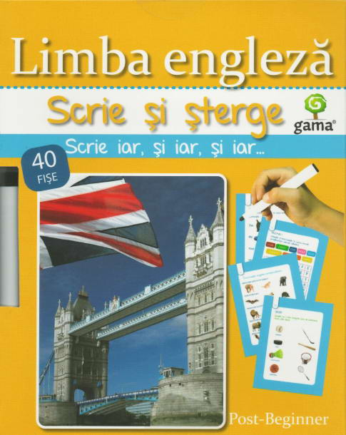 Limba engleza. Scrie si sterge. Post-Beginner