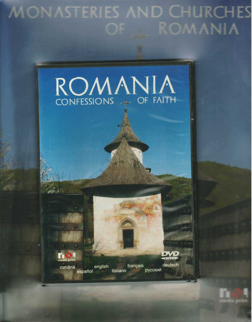 Monasteries and Churches of Romania (cu DVD)